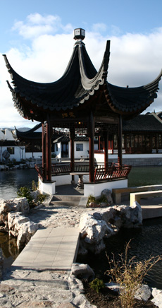 Image - Pavillion at Dunedin Chinese Garden