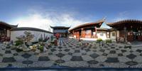 360 panoramic clip - Courtyard.